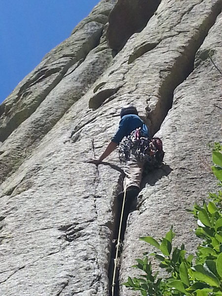 Rock Climbing Photo: Be brave!