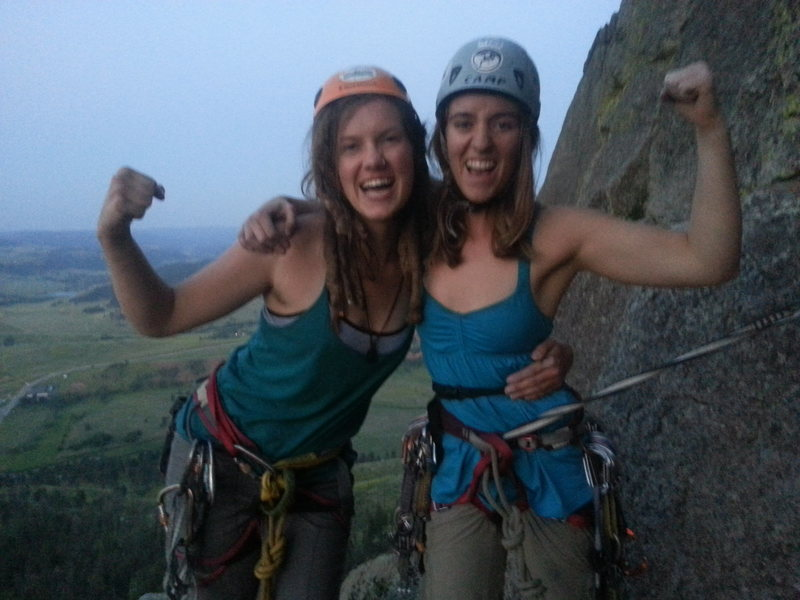 Rock Climbing Photo: UFC girls who climb!