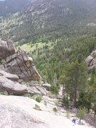 Rock Climbing Photo: Moby Dick--gyar!!!
