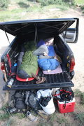 Rock Climbing Photo: Craggin' Wagon life.