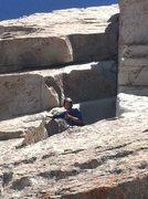 Rock Climbing Photo: Upside down staircase