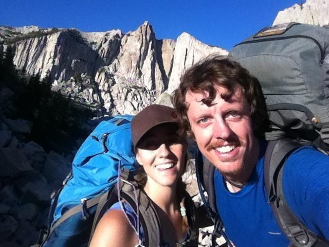 Rock Climbing Photo: Our red carpet arrival into the cirque