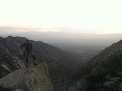 Rock Climbing Photo: Cue 'Rocky' Theme