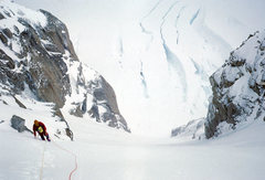 Rock Climbing Photo: The couloir