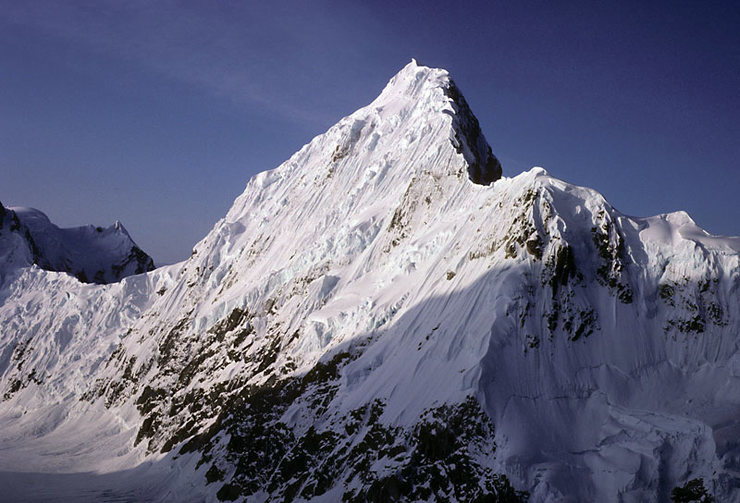 N Face from Reality Ridge on Denali