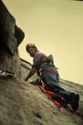Rock Climbing Photo: P.Ross on The VMC Direct 1971