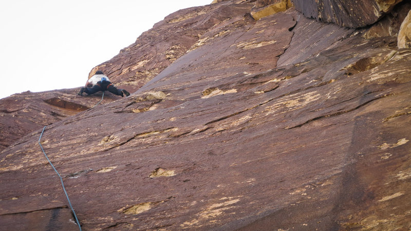 Rock Climbing Photo: Matt on Perplexity.  Misunderstanding to the right...