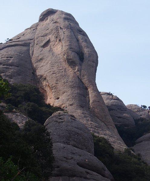 La Trompa de l'Elefant,  Sant Benet (Montserrat)