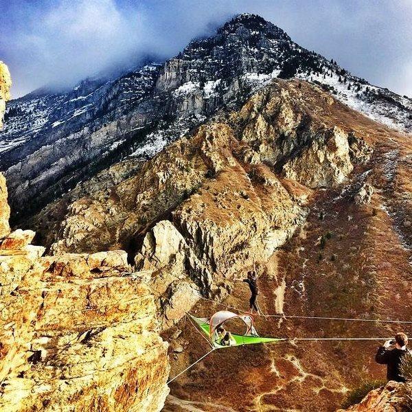 Rock Climbing Photo: SkyTent