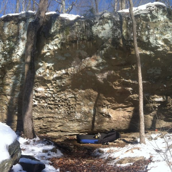 Rock Climbing Photo: Formaldehyde on an icy day