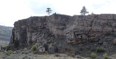 Rock Climbing Photo: NE end of the Upper East Face