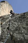 Rock Climbing Photo: Pitch #1 (of 20+)