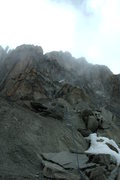 Rock Climbing Photo: A huge mountain with pitch after pitch!