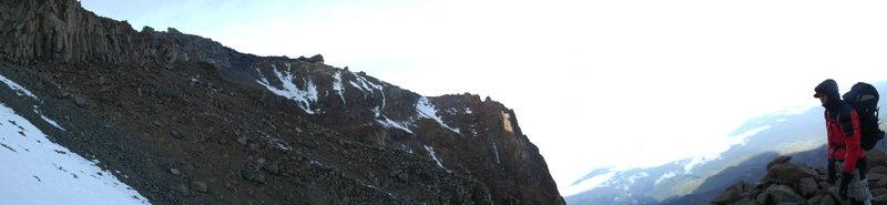 Rock Climbing Photo: Ascending the Western Breach