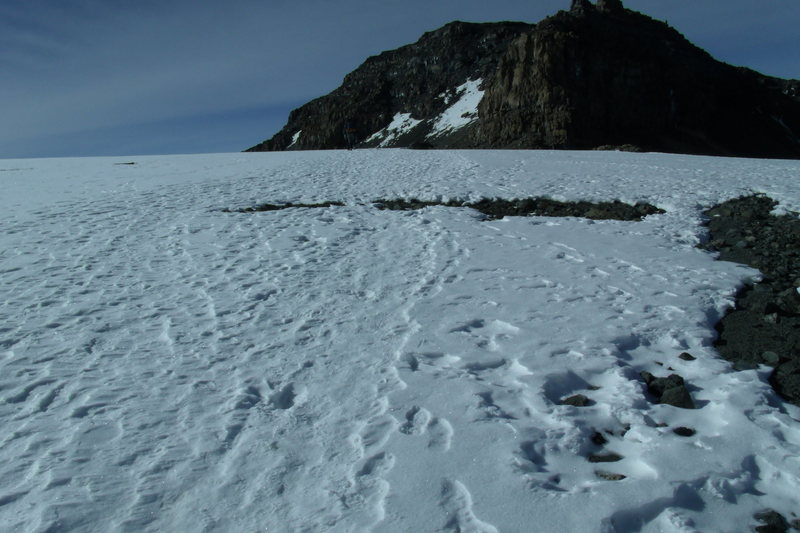 Rock Climbing Photo: Heading towards the summit after the Western Breac...