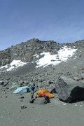 Rock Climbing Photo: Crater Camp (very high)