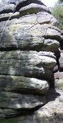Rock Climbing Photo: Birchden Corner, Isolated Buttress, Harrisons Rock...