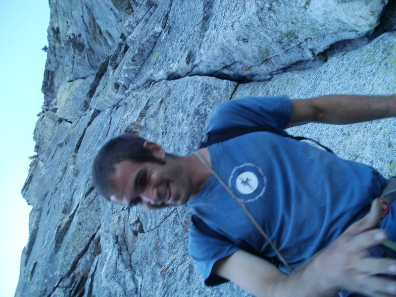 Rock Climbing Photo: Tahquitz Wong climb