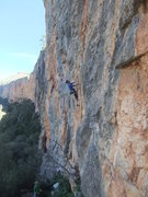Rock Climbing Photo: Looking past Chorreras Sector to Oasis, Chulillia