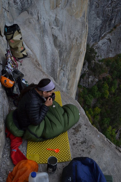 Ahwahnee Ledge, West Face of the Leaning Tower.