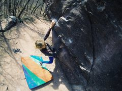Rock Climbing Photo: Warm up!