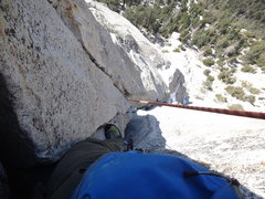 Rock Climbing Photo: somewhere on second or third pitch