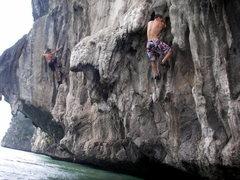 Rock Climbing Photo: More DWS in Ho Long Bay