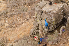 Rock Climbing Photo: Jesse Christopher stylin' it