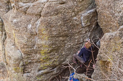 Rock Climbing Photo: Peter Haun