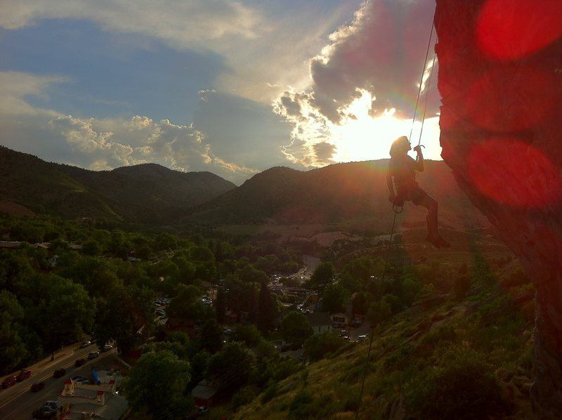 Rock Climbing Photo: Photo by Mountain Project contributor Joseph Haugh...