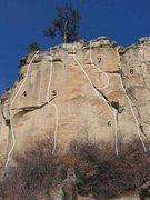 Rock Climbing Photo: Gregory 2 of 17 (4)Project (5) Chipped Route .11d ...