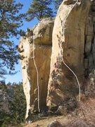 Rock Climbing Photo: Gregory4 of 17 (A)Bullies on the Corner .? (B)Dirt...