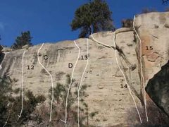 Rock Climbing Photo: Gregory 5  of 17 (12)Easy Street .9+ (C)Love it to...