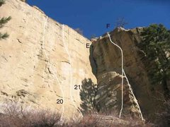 Rock Climbing Photo: Gregory 7 of 17 (20)Decade of Decay .11a/b (21) Fl...