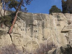 Rock Climbing Photo: Gregory 9 of 17-THE TRAINING WALL (23)Mr Chips .12...