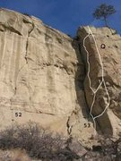 Rock Climbing Photo: Gregory 16 of 17 (52)Excuse Abuse .11b/10d (53) T'...
