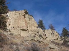 Rock Climbing Photo: Gregory 17 of 17 (R)Bumblie with a Drill 10a (54)G...