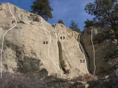 Rock Climbing Photo: Gregory 15 of 17 (P) I Don't Care .11a (48)Castles...