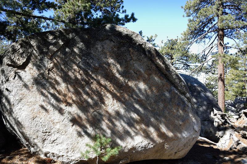 Rock Climbing Photo: seam boulder