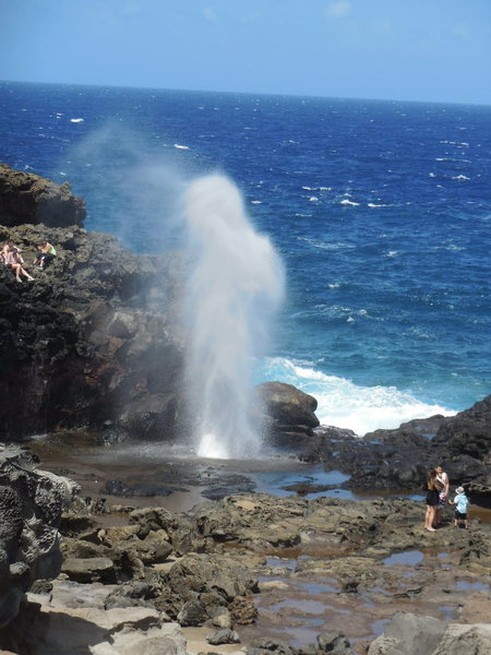 The Blowhole.