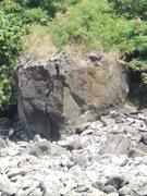Rock Climbing Photo: Honolua Crack.