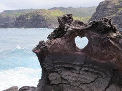 Rock Climbing Photo: The Heart.