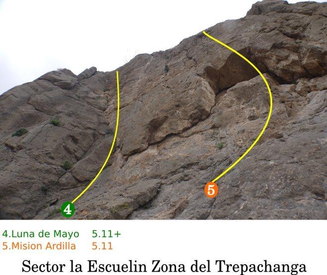 Rock Climbing Photo: 4 and 5