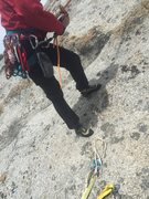 Rock Climbing Photo: Beware that a 70m rope will just reach the anchors...
