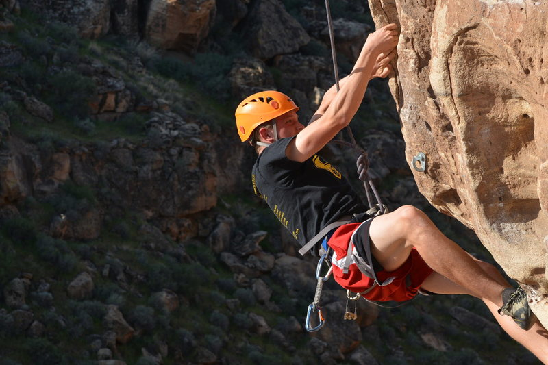 Rock Climbing Photo: Moral Dilemma