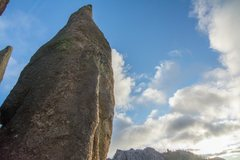 Rock Climbing Photo: Cerberus aka Tricouni Nail in its beauty