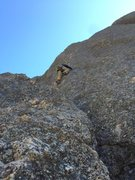 Rock Climbing Photo: Early March... brrrr