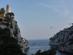 Rock Climbing Photo: looking out at le doigt de dieu