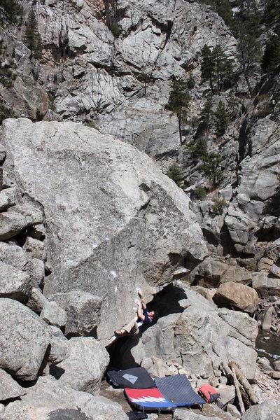 Rock Climbing Photo: Freedom