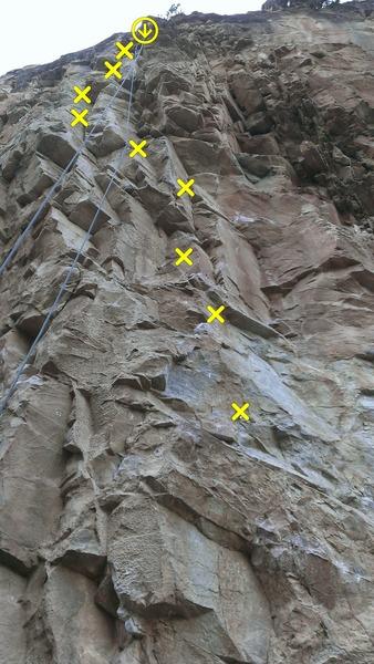 Rock Climbing Photo: Deutsches Blut.